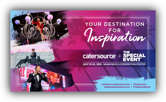 Catersource + The Special Event 2021 brochure cover image